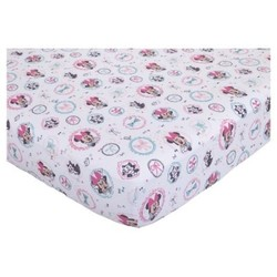 Disney Fitted Crib Sheet - Minnie Mouse