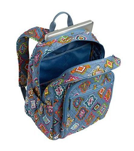 Vera Bradley Women s Campus Tech Backpack - Painted Medallion ... 5f662640889a6