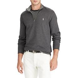 Polo Ralph Lauren Men's Luxury Jersey Pullover - Navy - Size:M 1941663