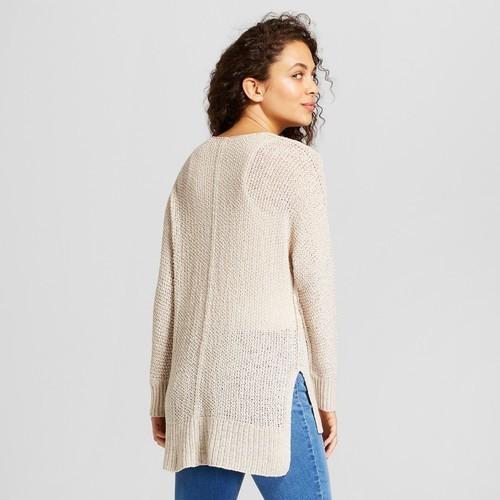 a77ad2a28d7 Universal Thread Women's Tunic Pullover - Cream - Size:XS - Check ...