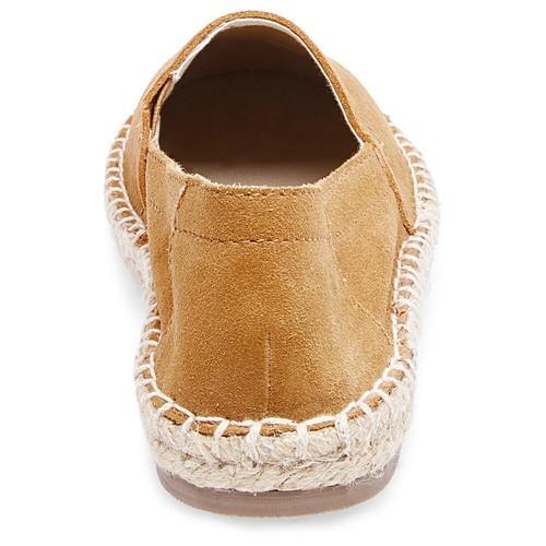 1c81b0aacd9 Soho Cobbler Women s Lemon Suede Flat Shoes - Chestnut - Size 10W ...