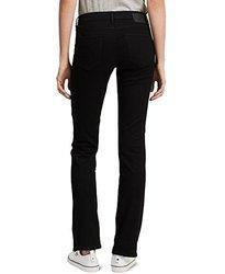 Calvin Klein Jeans Women's Straight Leg Jean, Black, 4x32 1932060