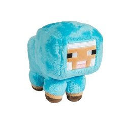 Minecraft Minecon Plush Stuffed Sheep Toy - Blue (52891419) 1675182