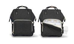 Backpack Diaper Bag: Black 1969182