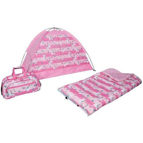 promo code bd9e9 f0525 Olivet Kids' 3-Piece Tent/Sleeping Bag/Duffel Slumber Set - Pink - Check  Back Soon