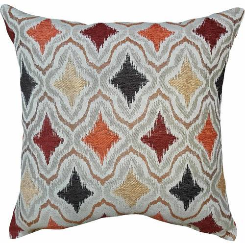 Better Homes Garden Spice Ripple Decorative Pillow Multi Check Custom Better Homes And Gardens Decorative Pillows