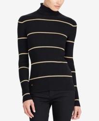 Lauren Ralph Women's Turtleneck Sweater - Black - Size: Medium 1974019