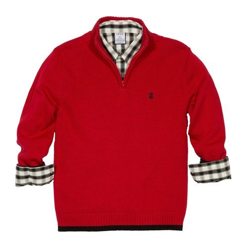 a201cf840 IZOD Boys  2-piece Sweater Set - Red Solid - Size XS - Check Back ...