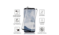 iCellCover 3D Curved Tempered Glass for Samsung Galaxy S9 Plus - Black 1979980
