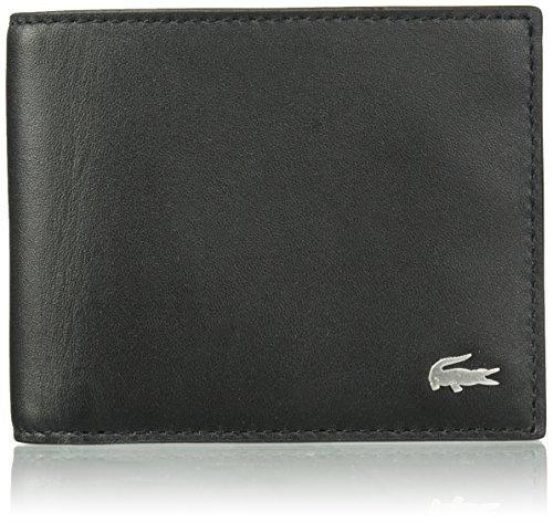 f3c73a412 Lacoste Men s Fg S Billfold Box Wallet - Black (NH2195FG) - Check ...