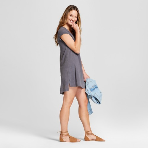 250c8bcb3ff50d Universal Thread Women s T-Shirt Dress - Gray - Size S - Check Back ...
