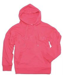 Calvin Klein Women's Performance Embroidered Pullover - Pink - Size:XL 1979332