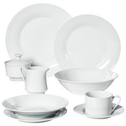 10 Strawberry Street 45-Pc. Round Dinnerware Set - - 10 Strawberry Street 1996223