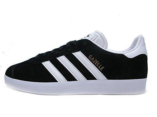 Gazelle Sneakers - Black/White/Gold