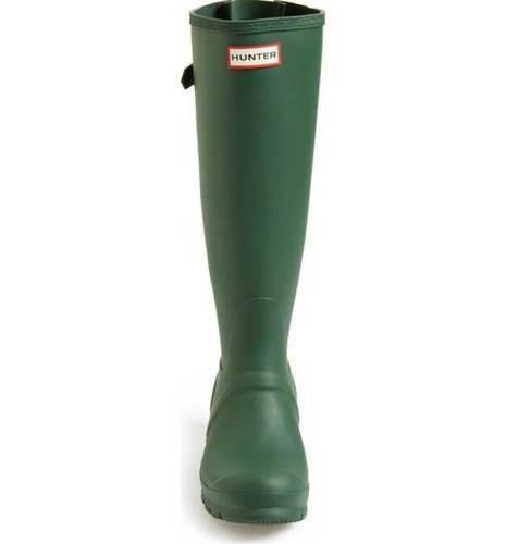 ... Hunter Women s Original Tall Adjustable Calf Rain Boot - Green - Size   ... 121232d876