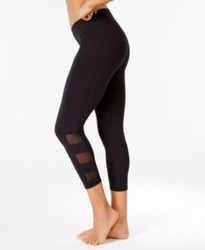 Gaiam Women's Sportswear: Whitney Om Yoga Capri-Black/Small 2046633