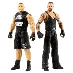 WWE Tough Talkers Brock Lesnar and Undertaker Action Figure 2-Pack 2057273