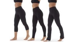 Marika Women's Tummy Control Bottoms Leggings - Midnight Blue - Size: L 2061916