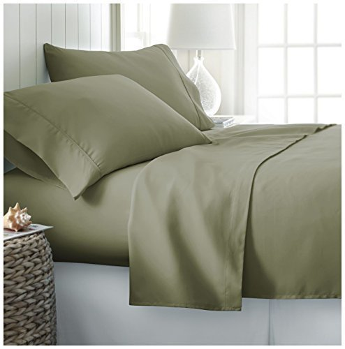 Home Collection Full Sheet Set By Ienjoy Deep Pocket Bed Sheets   100% Soft  Brushed