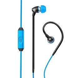 Jlab JBuds FIT Sport Earbuds with In-Wire Earhooks - Black/Blue