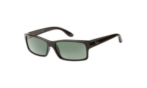 c17e22cac6b ... Ray-Ban RB4151 Sunglasses with Black Frame and Green Polarized Lenses  ...