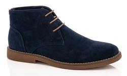 Adolfo Men's Colin Chukka Boots - Navy