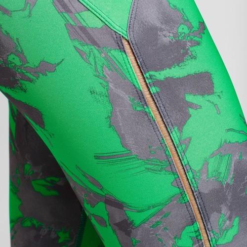 508cbe0cf99 JoyLab Women s Performance 7 8 Island Print Leggings - Green - Size ...