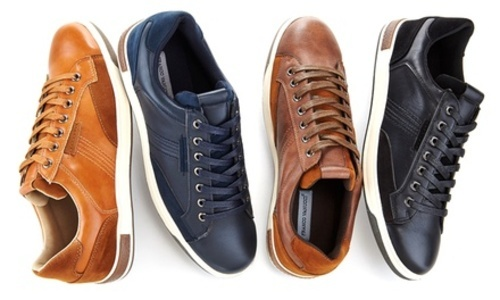 7f2c3e0268fd Franco Vanucci Men's Lace Up Faux Leather Sneakers - Navy - Size:13 - Check  Back Soon