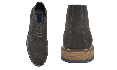 c3646171c15956 Joseph Abboud Men's Suede Chukka Boots - Gray - Size: 10.5 - Check ...