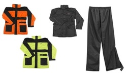 Vega Motorcycle Gear - Rain Jacket - Hi-Visibility Orange - Size: Medium 2144885