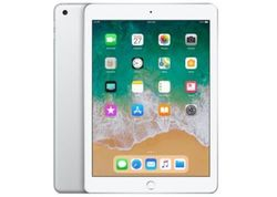 Apple iPad with WiFi, 128GB, Silver (2018 Model)