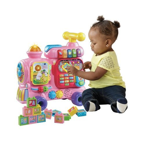 Vtech Kids Sit To Stand Ultimate Alphabet Train Pink Check Back