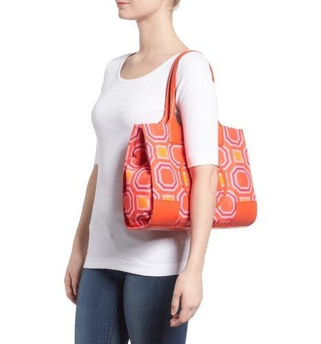 4a0862c38933 Tory Burch Women s Ella Octagon Print Nylon Tote Bag - Pink - Check ...