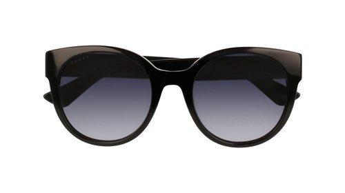 911d186c1e7 Gucci Women s Urban Pop Nylon Round Frame Sunglasses - Black - Check ...