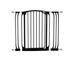 Dreambaby Extra Tall Swing Close Gate Black L782B