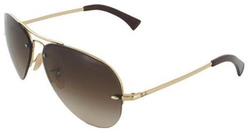 51e4c1473d1 Ray-Ban Aviator Unisex Sunglasses - Gold Brown Gradient Lens - BLINQ