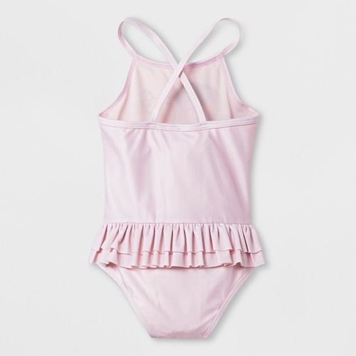 ca9d8bb9fd Toddler Girls' Disney Minnie Mouse Swimsuit - Light Pink - Size:2T ...