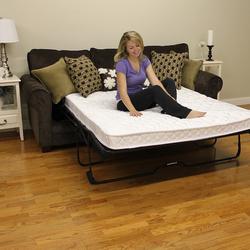 "Modern Sleep 4.5"" Replacement Sofa Bed Mattress - White - Size:Twin"