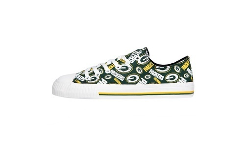44e4dd61 Forever Women's Green Bay Packers Low Top Sneakers - Multi - Size:6