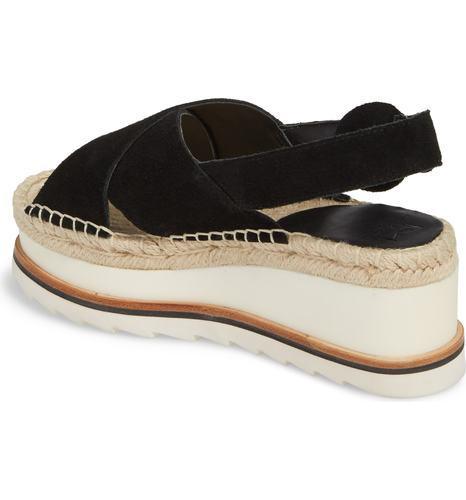 d01087697284 Marc Fisher Women s Glenna Platform Slingback Sandals - Black - Size ...