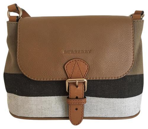 9106d292a7f8 Burberry Small Ashby Crossbody Bag - Saddle Brown - Check Back Soon ...