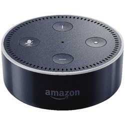 amazon echo dot bluetooth speaker black 53 005166. Black Bedroom Furniture Sets. Home Design Ideas