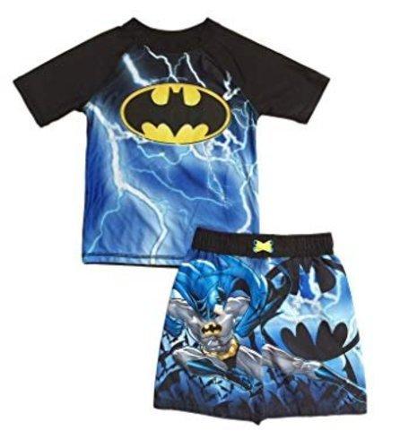2887a478c4 Toddler Boys' Batman Swim Trunks and Rash Guard Set - Multi - Size ...