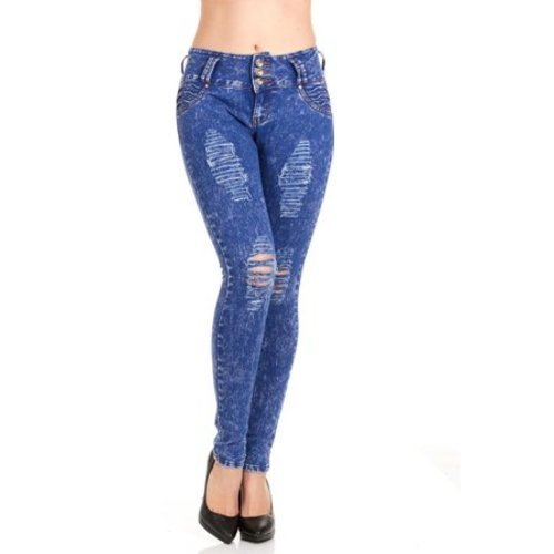 47878206a70 ... 16 Red Jeans Women s Mid Rise Curvy Colombiana Jeans - Dark Blue - Size   ...