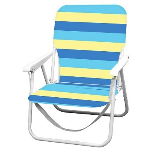 Strange Caribbean Joe Folding Beach Chair With Carry Strap Blue Yellow Stripe Check Back Soon Gamerscity Chair Design For Home Gamerscityorg