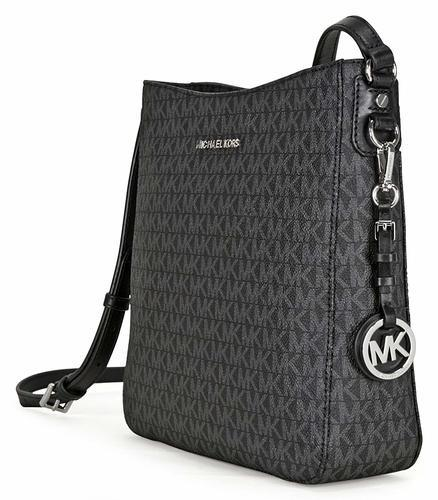 8f88d29010f2 Michael Kors Women's Jet Set Travel Messenger Bag - Black - Size ...