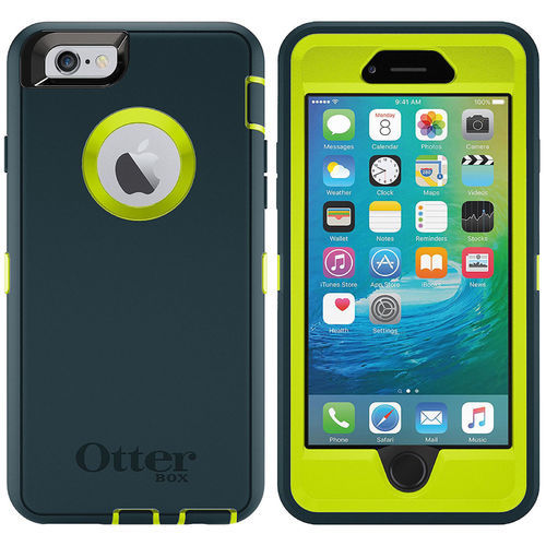 e66e314dd Otterbox Defender Series Case And Belt Clip For Apple Iphone 6/6S Jade  Green Iphone ...
