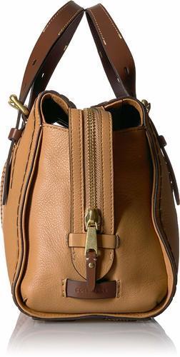 a042e4c8cf Cole Haan Women's Loralie Whipstitch Satchel Bag - Camel - Check ...
