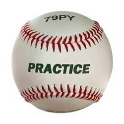 Sport Macgregor 79PY Boy's Practice Baseball for Youth One Dozen - White