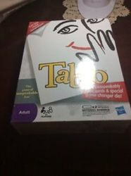 TABOO BOARD GAME * THE GAME OF UNSPEAKABLE FUN* BRAND NEW FACTORY SEALED HASBRO 2270582